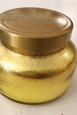 8oz Volcano Petite Gold Glittered Ombre Signature Jar