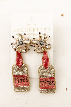 Tito's Boozy Earrings
