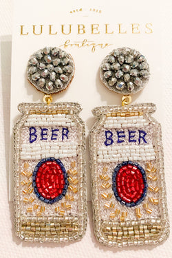Beer Boozy Earrings