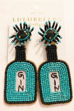 Gin Boozy Earrings