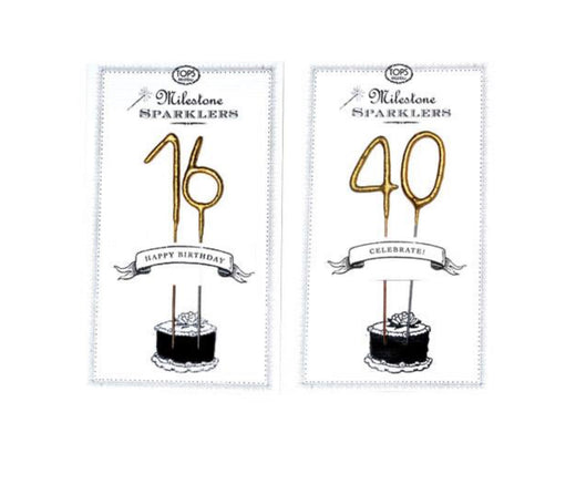 Sparkle Card Milestone Candle