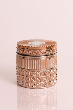 11oz Rose Gold Jar Candle, Pink Grapefruit and Prosecco