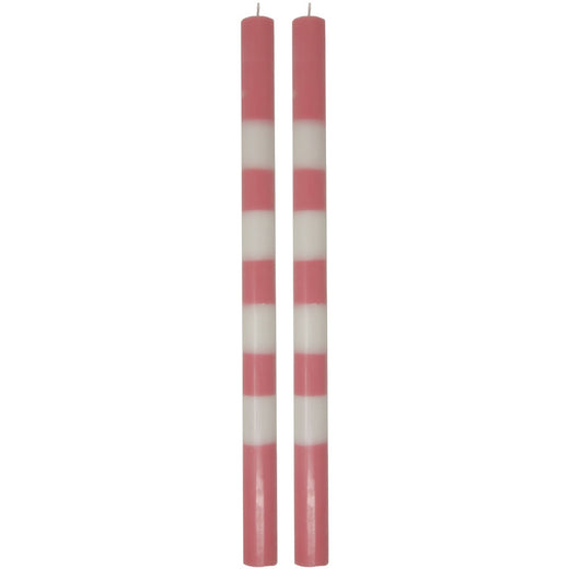 Striped Tapered Candles