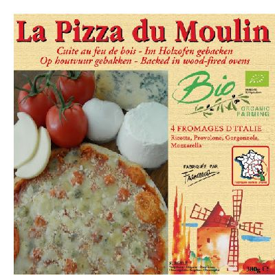 PIZZA 4 FROMAGES ITALIENS 380G