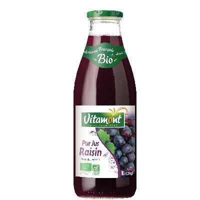 JUS DE RAISIN ROUGE 1L