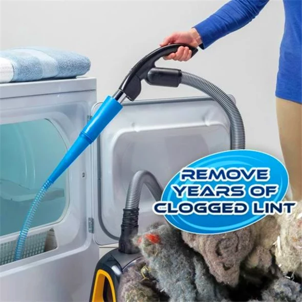 Remove Dryer Lint Buildup With LONGER Hose!