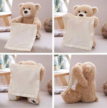 Load image into Gallery viewer, Peek A Boo Teddy Bear Play Toy (70% Off Today Only!)