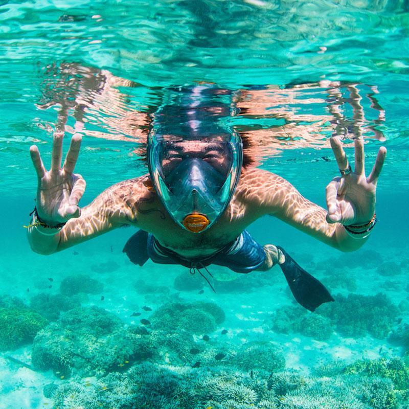 WaterLungs™-Full Face Snorkel Mask