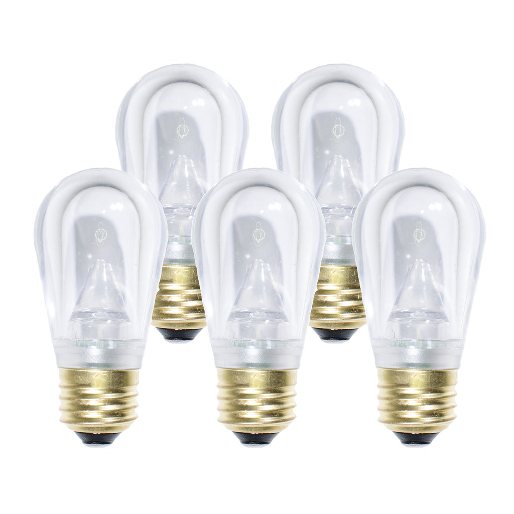 S14 LED Festive Bulbs · Smooth - Holiday Lighting Outlet