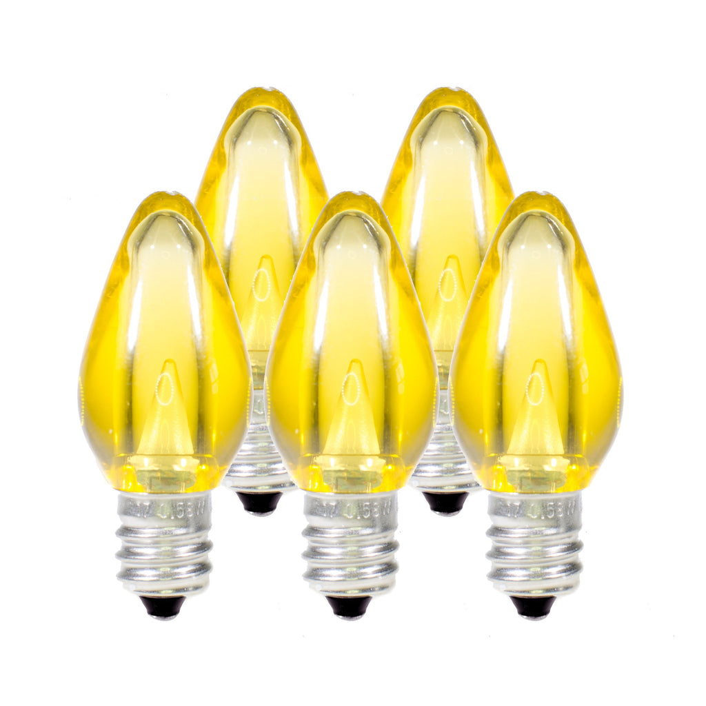 C7 LED Christmas Light Bulbs · Smooth - Holiday Lighting Outlet