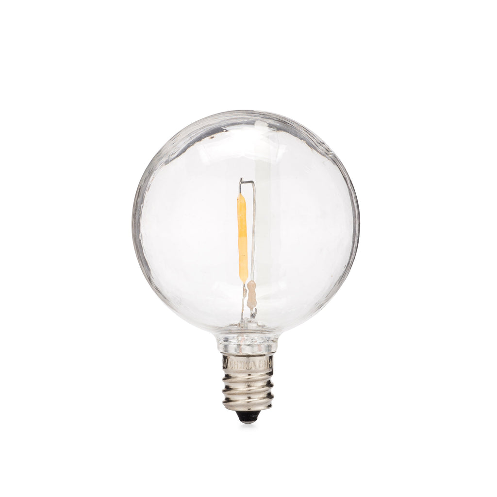 LED Filament G50 Bulbs · 25 Pack - Holiday Lighting Outlet