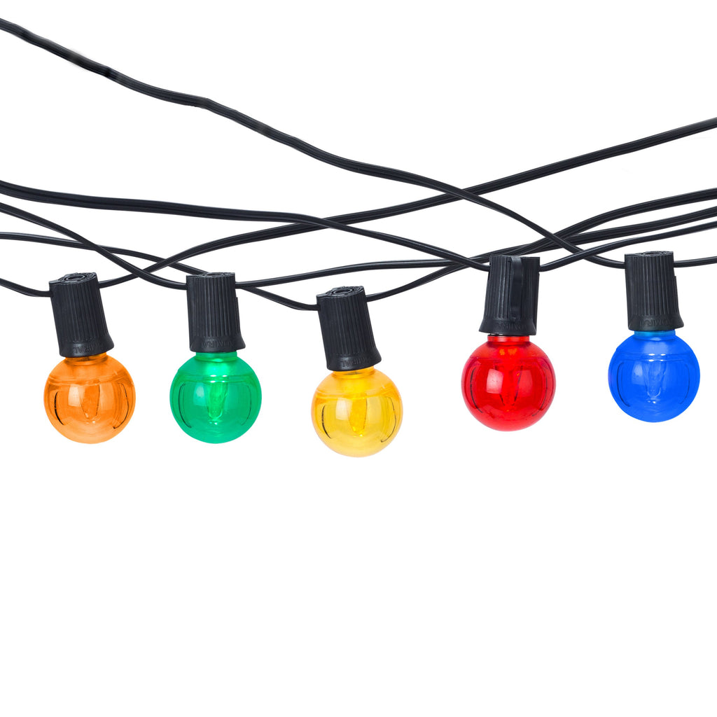 G40 Bistro Light Strings · C7 LED Bulbs - Holiday Lighting Outlet