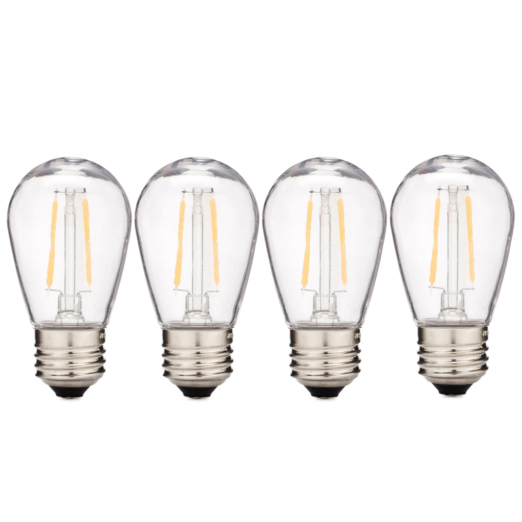S14 LED Filament Bulbs · Sun Warm White Patio Light Replacement Bulbs - Holiday Lighting Outlet