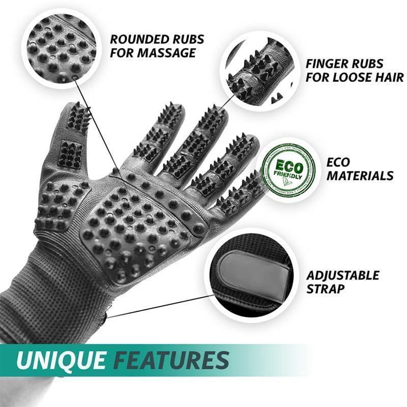 Equine Horse Grooming Gloves