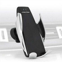 Automatic Clamping Wireless Car Charger Mount 360 Degree Rotation