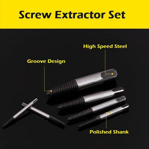 Screw Extractor Set (6pcs)