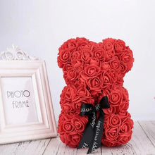 Romantic Valentine's Rose Bear