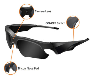 CAMGLASS™ Outdoor 1080P Camera Polarized Sunglasses