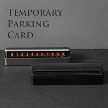 Temporary Parking Card