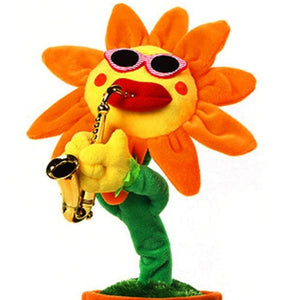 Singing and Dancing Enchanting Sunflower
