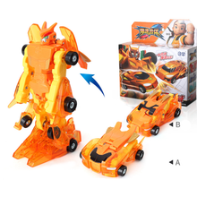 Inertia Force Collision Deformation Robot Car Toy