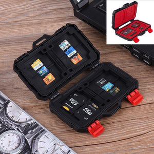 Waterproof Memory Card Carrying Case