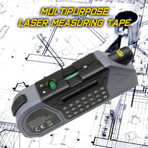 Multipurpose Laser Measuring Tape