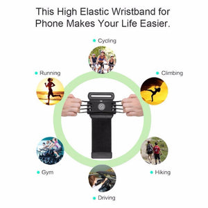 Wristband Phone Holder
