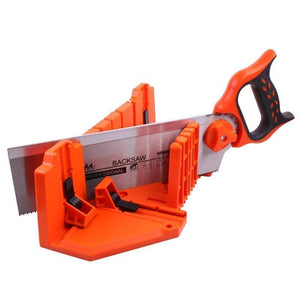 Clamping Mitre Box with Adjustable Saw