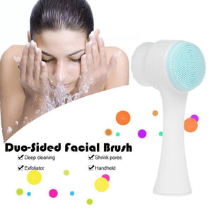 Duo-Sided Facial Brush