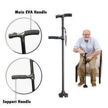 Double-Handle Walking Stick
