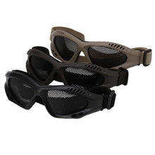 Outdoor Eye Protective Comfortable Airsoft Safety Tactical Glasses Goggles Anti Fog With Metal Mesh 3 Colors