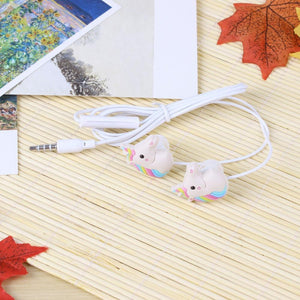 Unicorns Cartoon Earphones