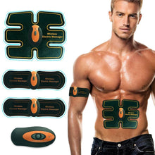Rechargable six pack training pad