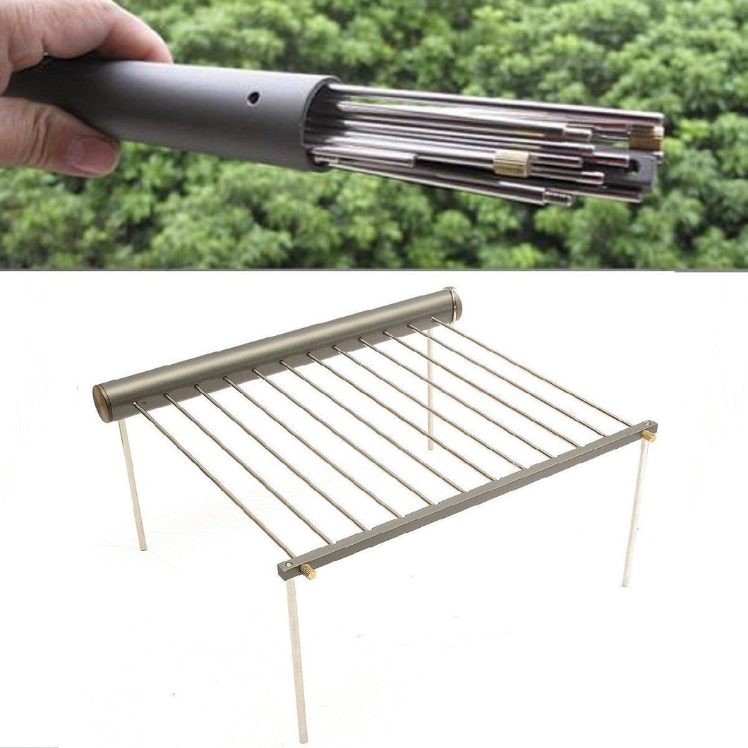 Portable Stainless Steel BBQ Grill