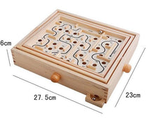 Handmade Wooden Pinball Maze(Good to train balancing)