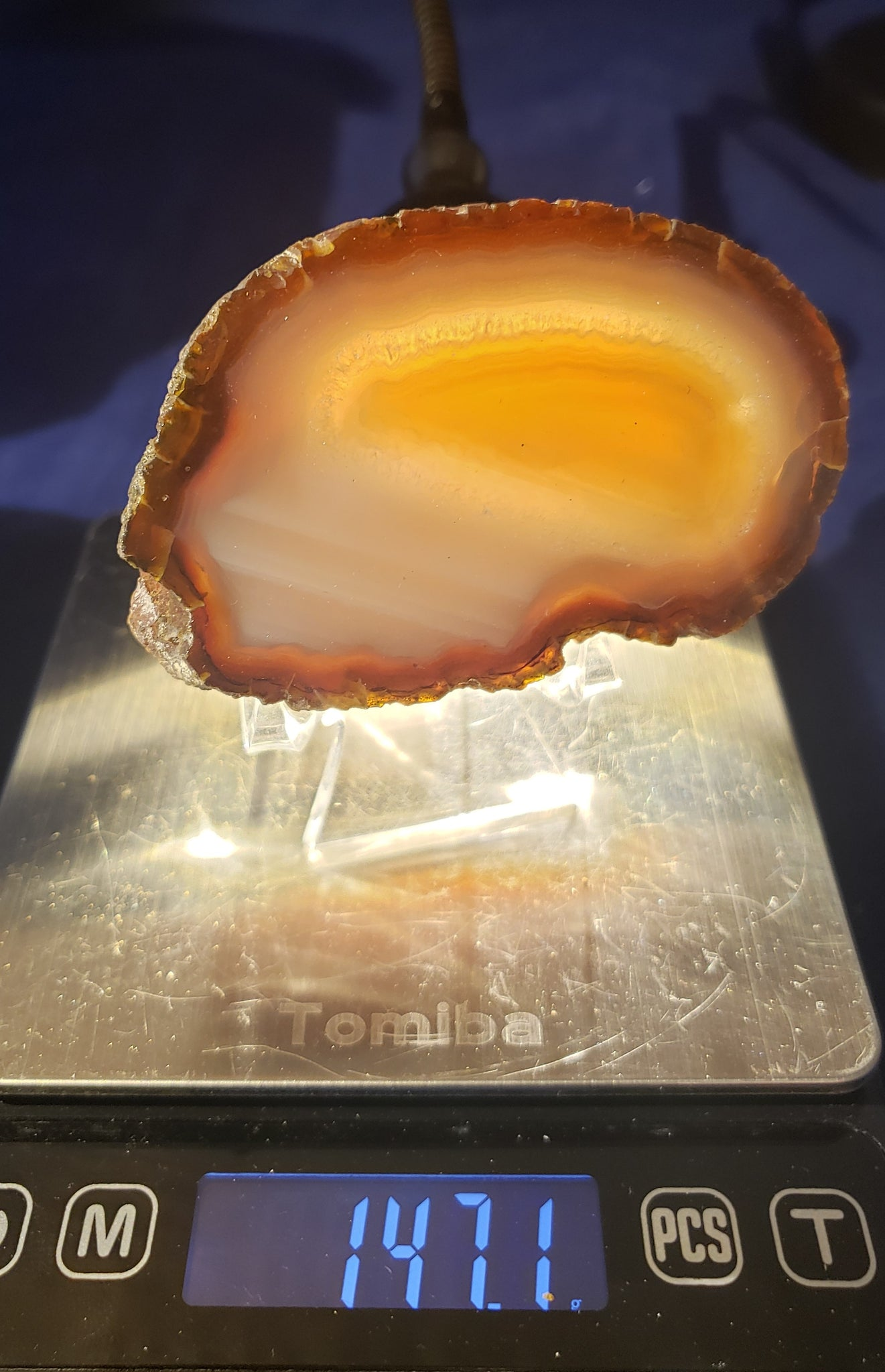 Agate Slab - thick - 021