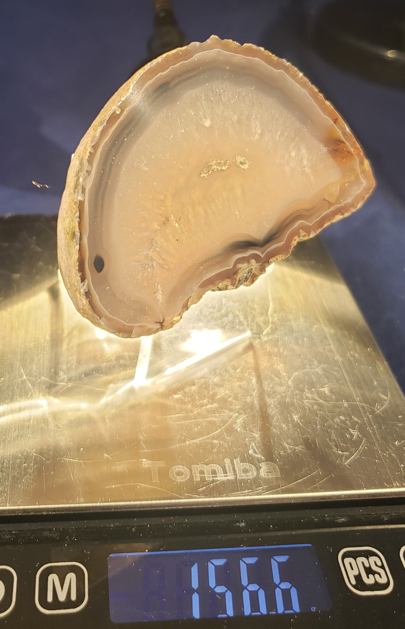 Agate Slab - Thick - 008