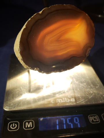 Agate Slab - thick -014