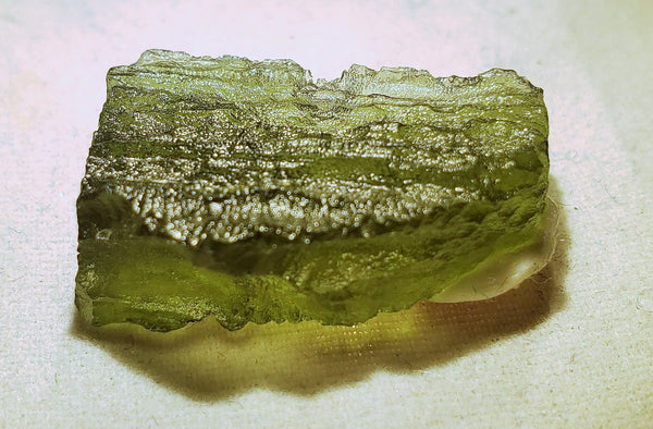"Moldavite, Tektite, ""Glass from Space"" #023"