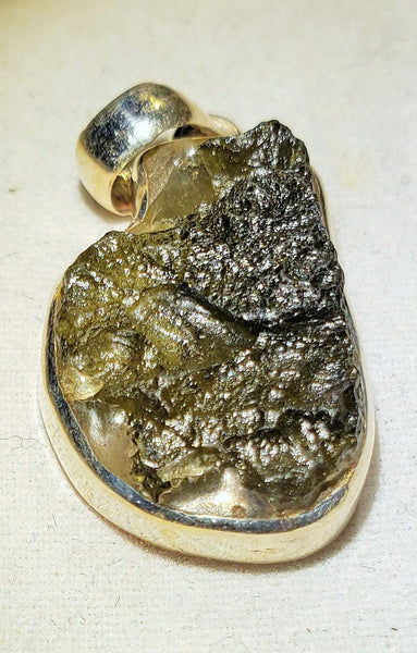 "Moldavite, Tektite, ""Glass from Space"" #005"