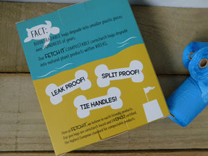 Fetch it, Compostable Dog Poo Bags.