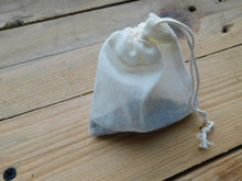 Load image into Gallery viewer, Reusable Cotton Tea Bags