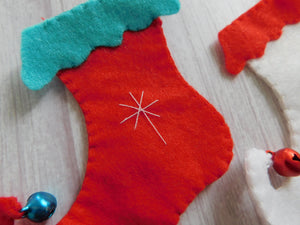 Felt Christmas Decorations.