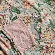Load image into Gallery viewer, Repurposed Floral Duvet Cover