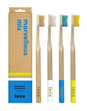 Load image into Gallery viewer, F.E.T.E Bamboo Toothbrush