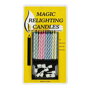Magic Relighting Candles.
