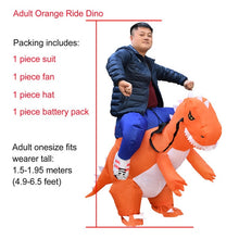 Load image into Gallery viewer, Inflatable Dinosaur Costume