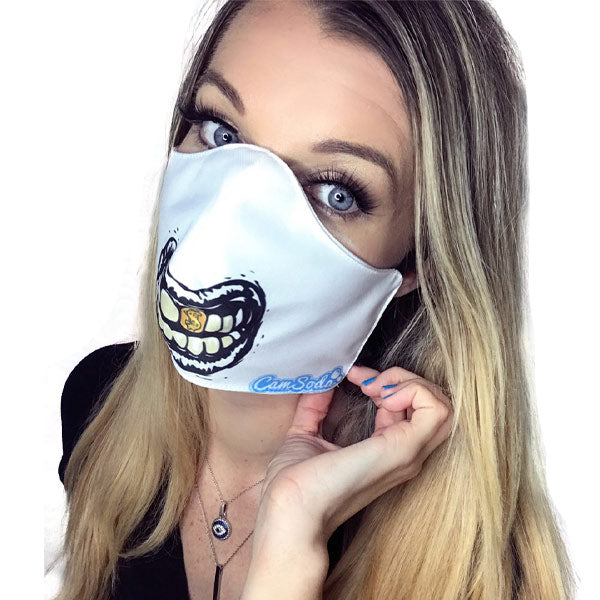 Camsoda Gold Tooth Grill Mask