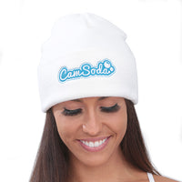 Camsoda 3D Embroidered Cuffed Beanie